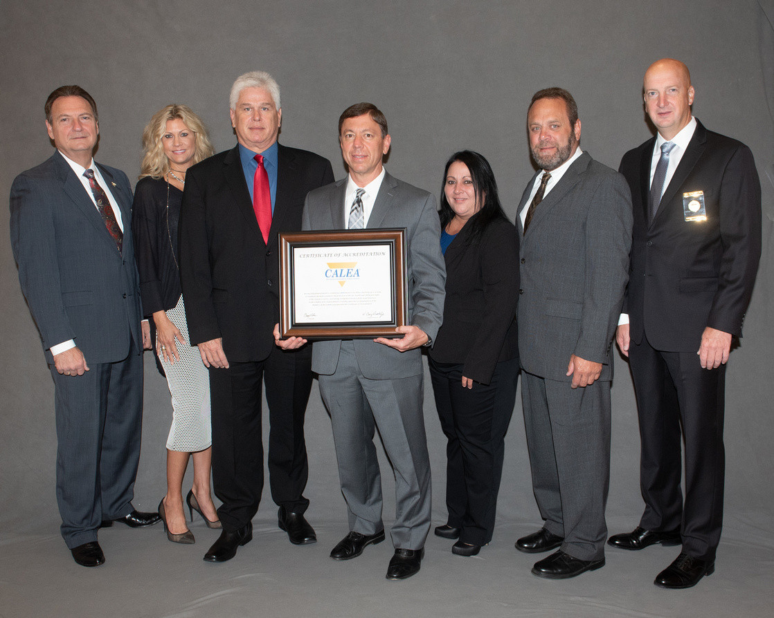 TPSO Receives Reaccreditation Status - CALEA - National Accrediation