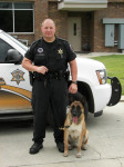 Deputy Redmond with K9 Bart -