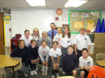TPSO Visits Holy Ghost School -